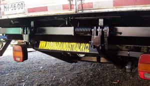 Plataforma hidraulica para camiones chile